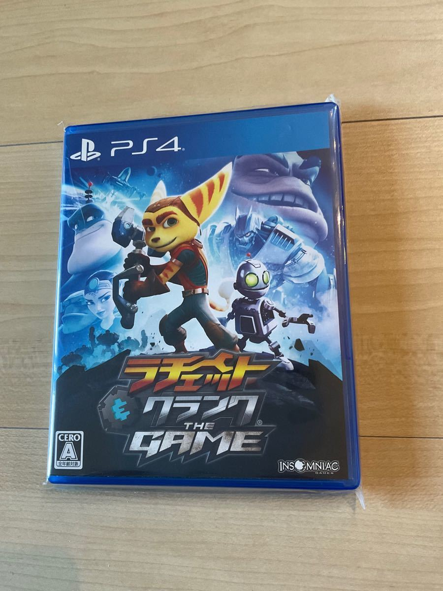 PS4 ラチェット&クランク THE GAME 美品