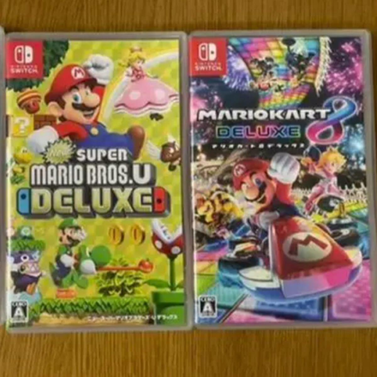 マリオカート8デラックス Nintendo Switch マリオカート ニンテンドースイッチ NewスーパーマリオブラザーズU