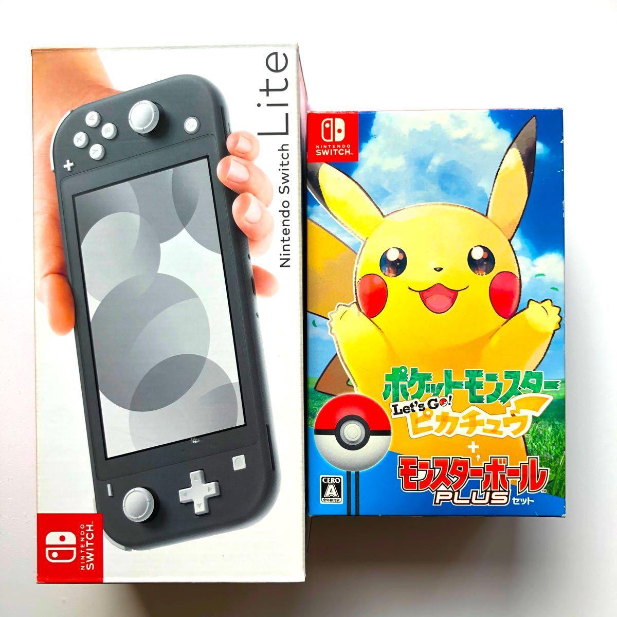 Switch ライト & ポケモン Let's go ピカチュウ ソフト