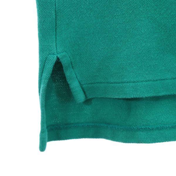 ポロラルフローレン ナイガイ社製 ワンポイントロゴ 半袖 ポロシャツ L 緑 POLO RALPH LAUREN メンズ 210626 メール便可_ポロラルフローレン ナイガイ社 詳細4