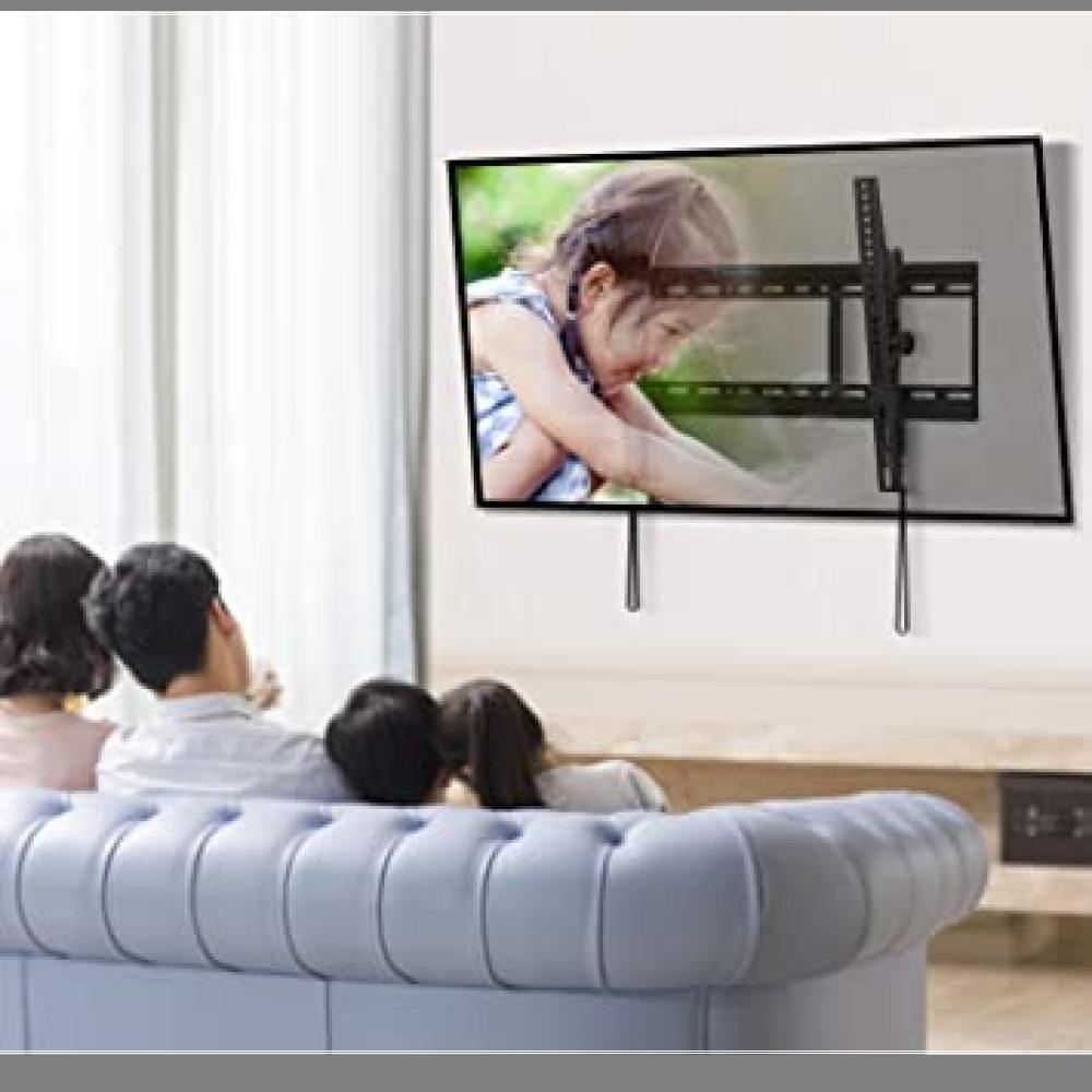1円から即決・ブラック PERLESMITH テレビ壁掛け金具 37~70インチ 液晶テレビ対応 耐荷重60kg 左右移動式 角_画像6