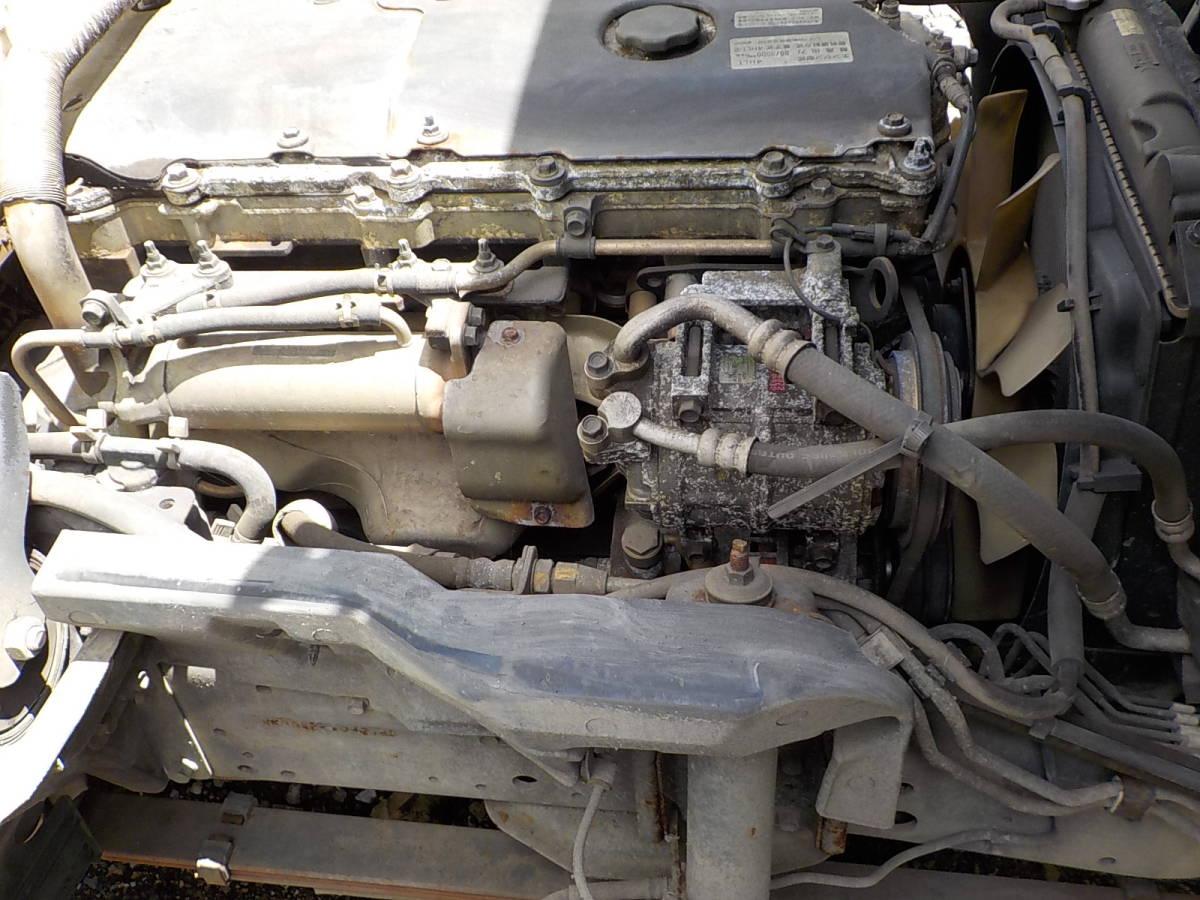 H16年 実走行距離14万km台2トンダンプKR- 4HL1 エンジン 下取り値引き可能 NKR81 用エンジン関東送料無料その他県送料格安 _画像1