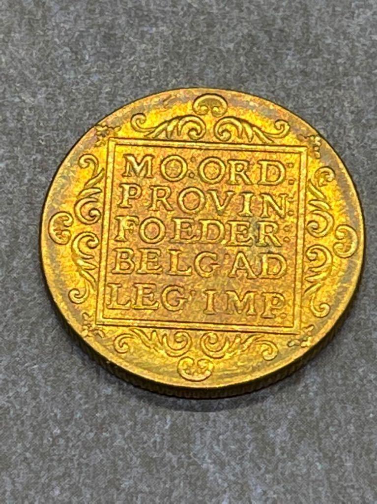 オランダ 金貨 レプリカ Ω コイン メダル 古銭 3_画像2