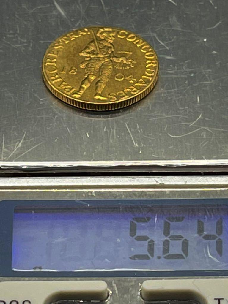 オランダ 金貨 レプリカ Ω コイン メダル 古銭 3_画像3