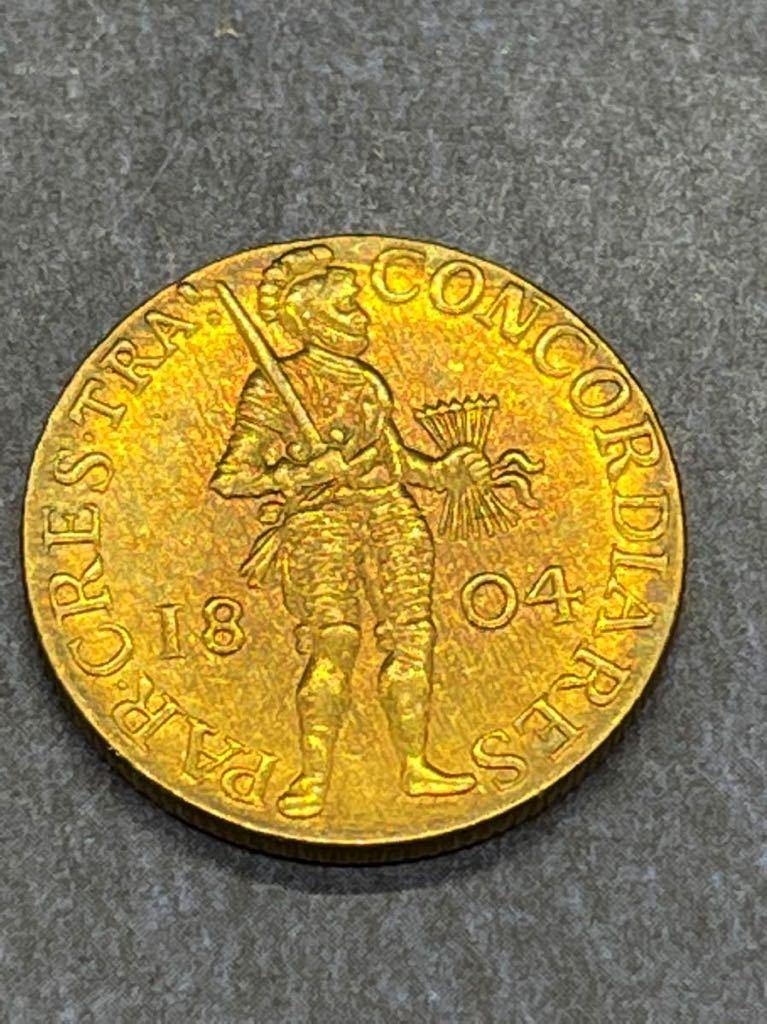 オランダ 金貨 レプリカ Ω コイン メダル 古銭 3_画像1