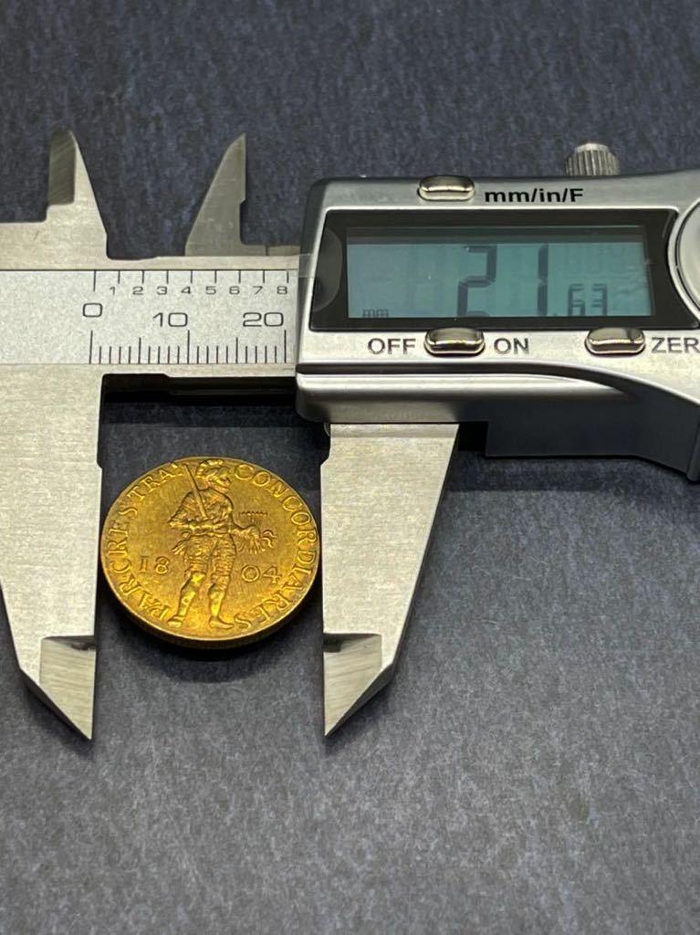 オランダ 金貨 レプリカ Ω コイン メダル 古銭 3_画像4