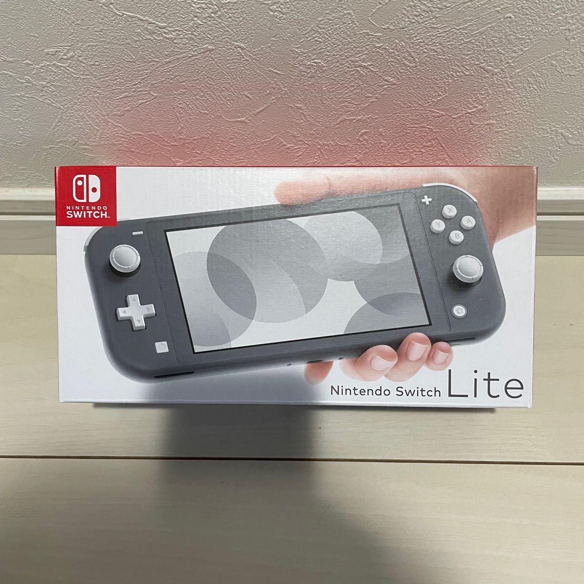 Nintendo Switch Lite ニンテンドー スイッチ ライト グレー