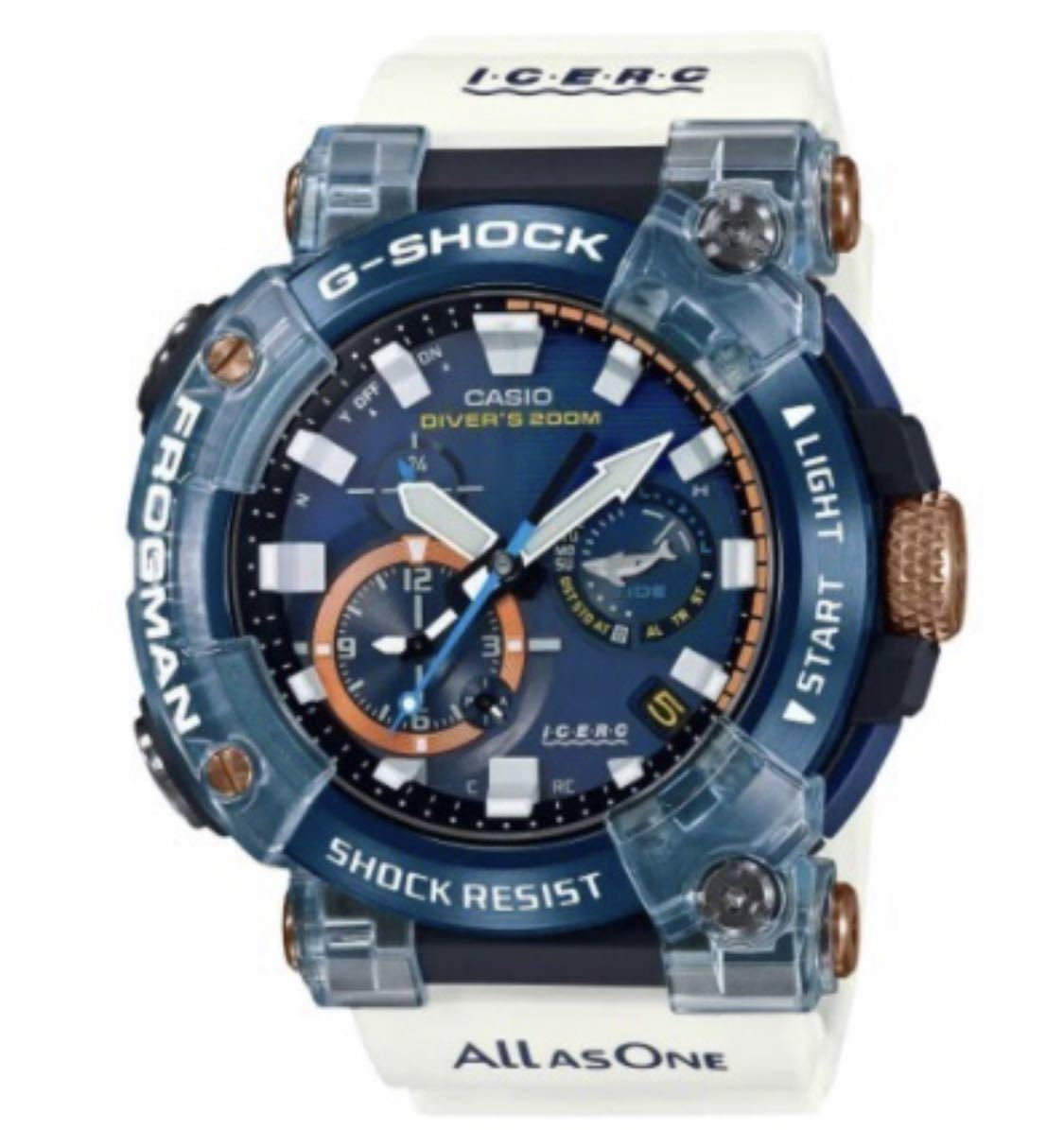 CASIO G-SHOCK GWF-A1000K-2AJR [ISO200m潜水用防水 FROGMAN Love The Sea And The Earth イルカクジラモデル] ②