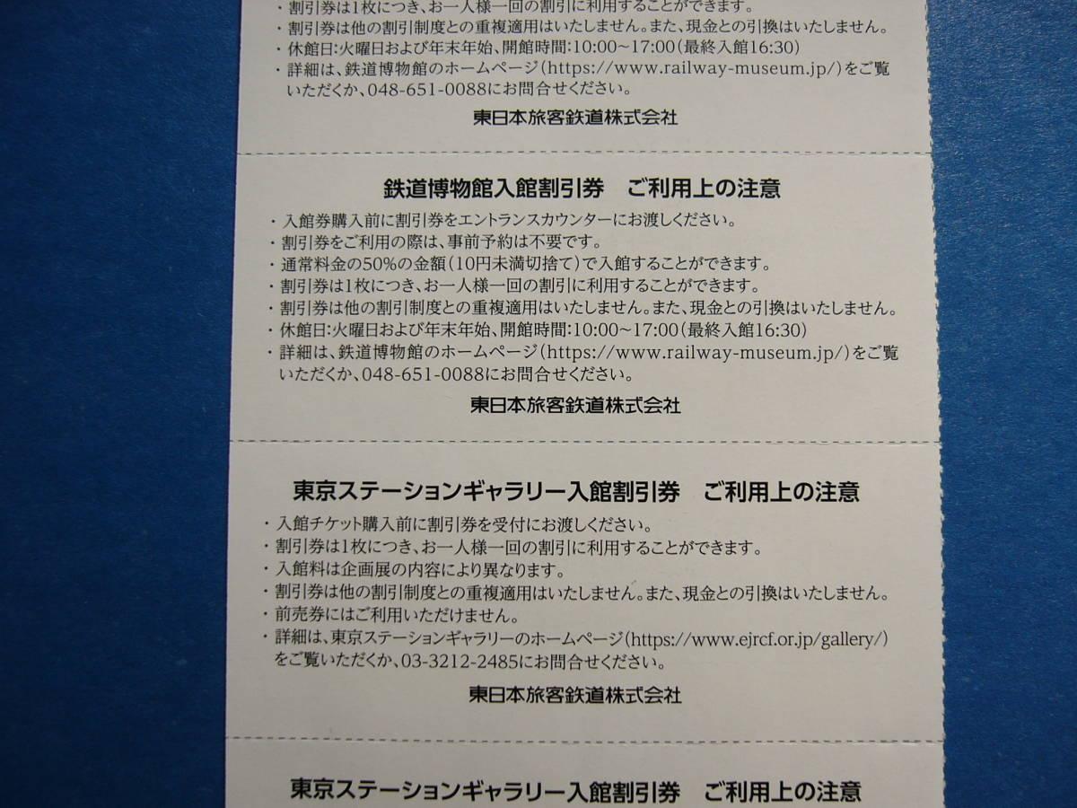 鉄道博物館・東京ステーションギャラリー 入館割引券_画像2