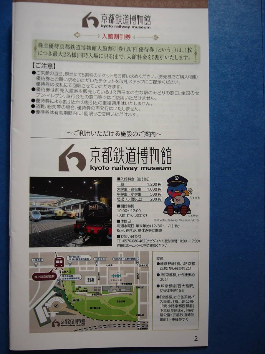 京都鉄道博物館 入館割引券_画像3