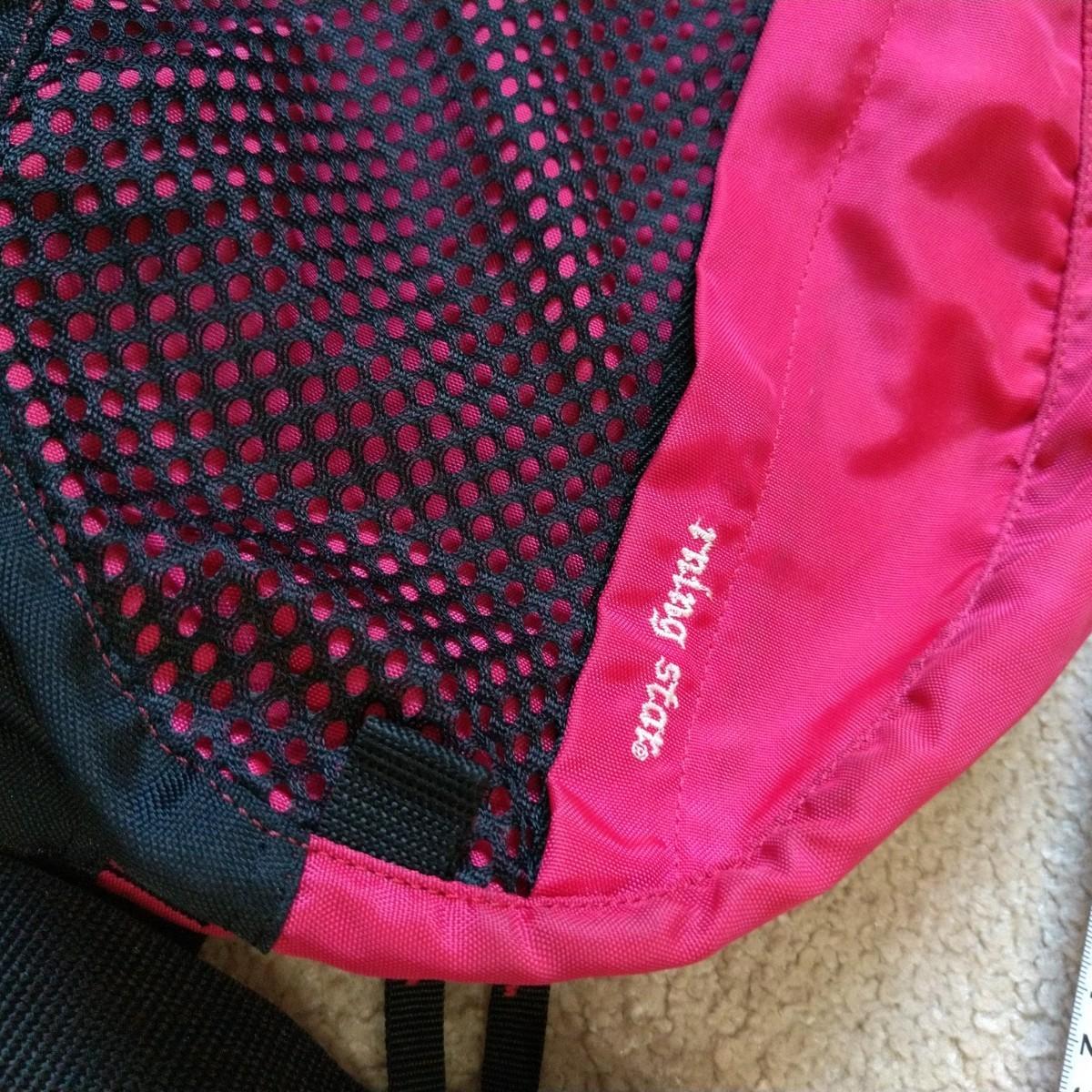 ウエストポーチ  メッシュバッグ  ボディバッグ  濃いピンク