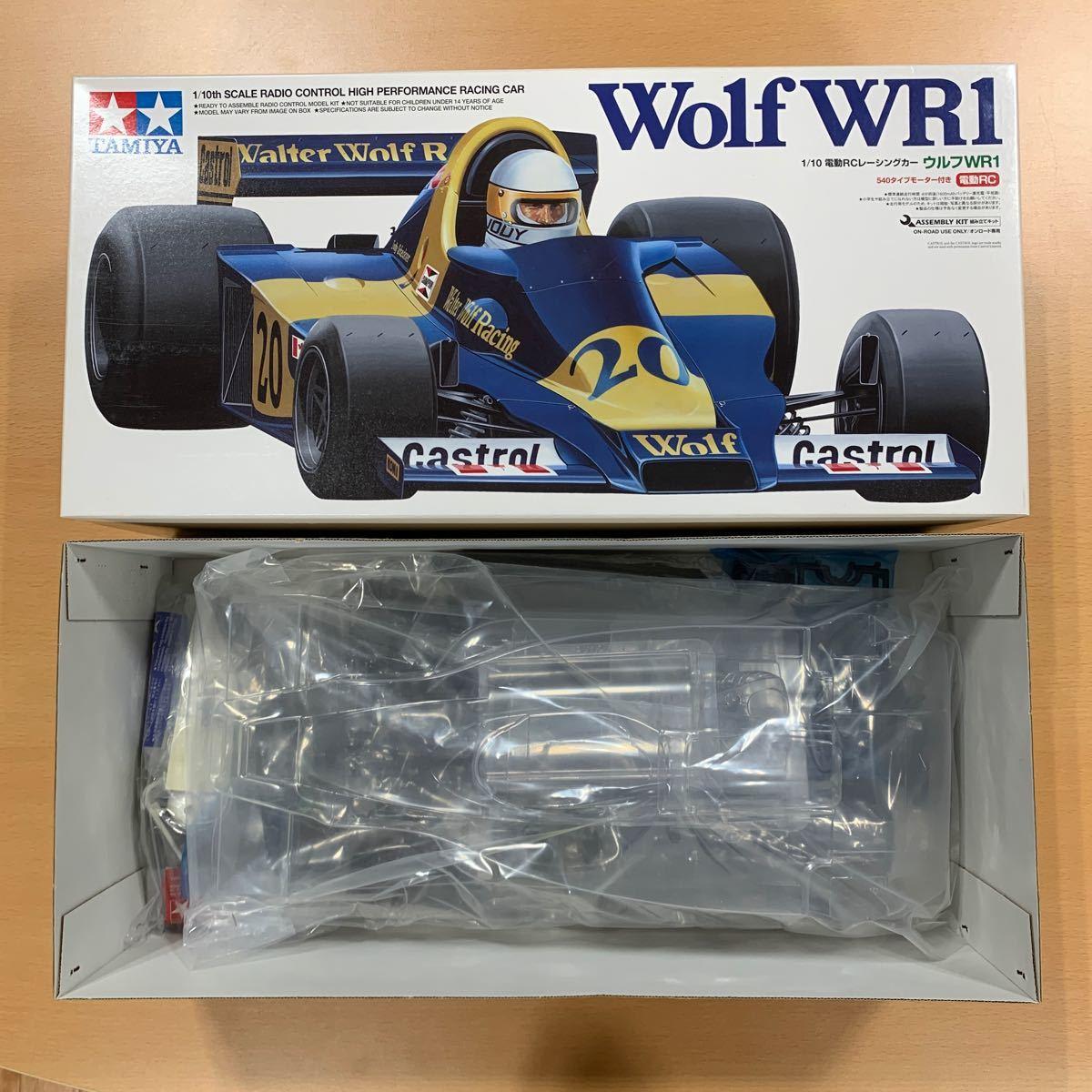 タミヤ 1/10 電動RCレーシングカー ウルフWR1