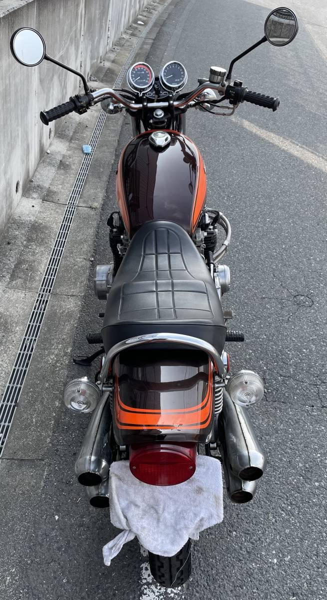 「Kawasaki 王者 Z1 男カワサキ 【実動・書類付き・車検付き】 名車・絶版車  ~九州・福岡~」の画像3