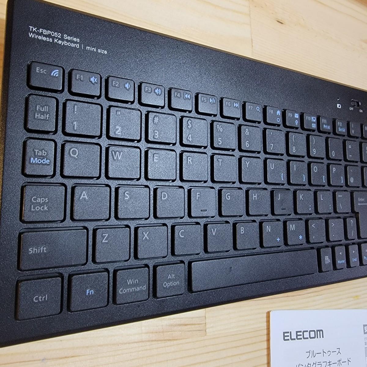 Bluetoothキーボード(Win&Mac)TK-FBP052