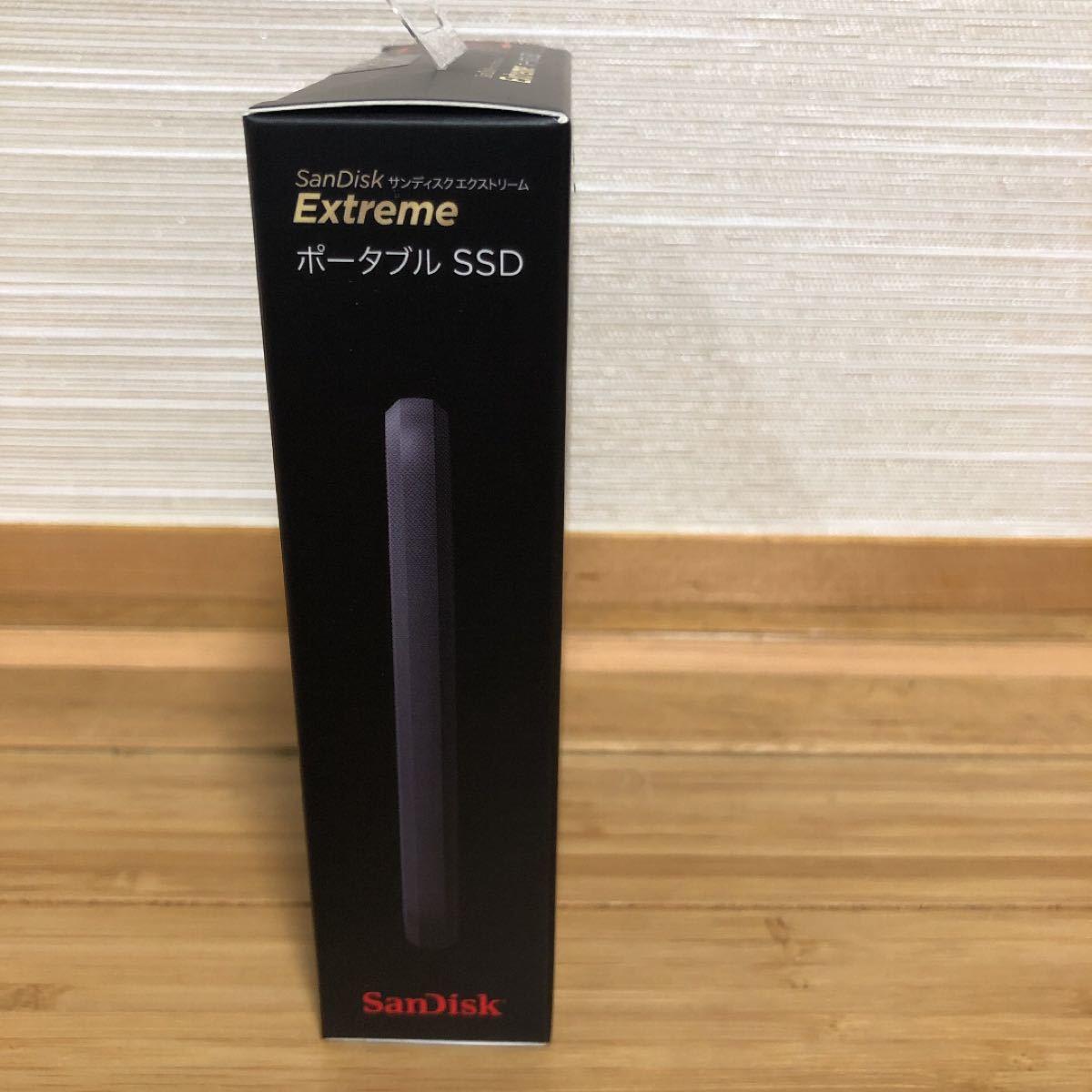 SanDisk Extreme ポータブルSSD 500GB  サンディスク USB3.1 耐衝撃、防滴、防塵、エクストリーム