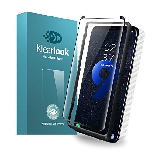 S9 Galaxy S9用強化ガラスフィルム 「ケースに干渉せず・透過率99%」 タッチ感度良好 S-PENに対応 (ガラス液晶_画像1