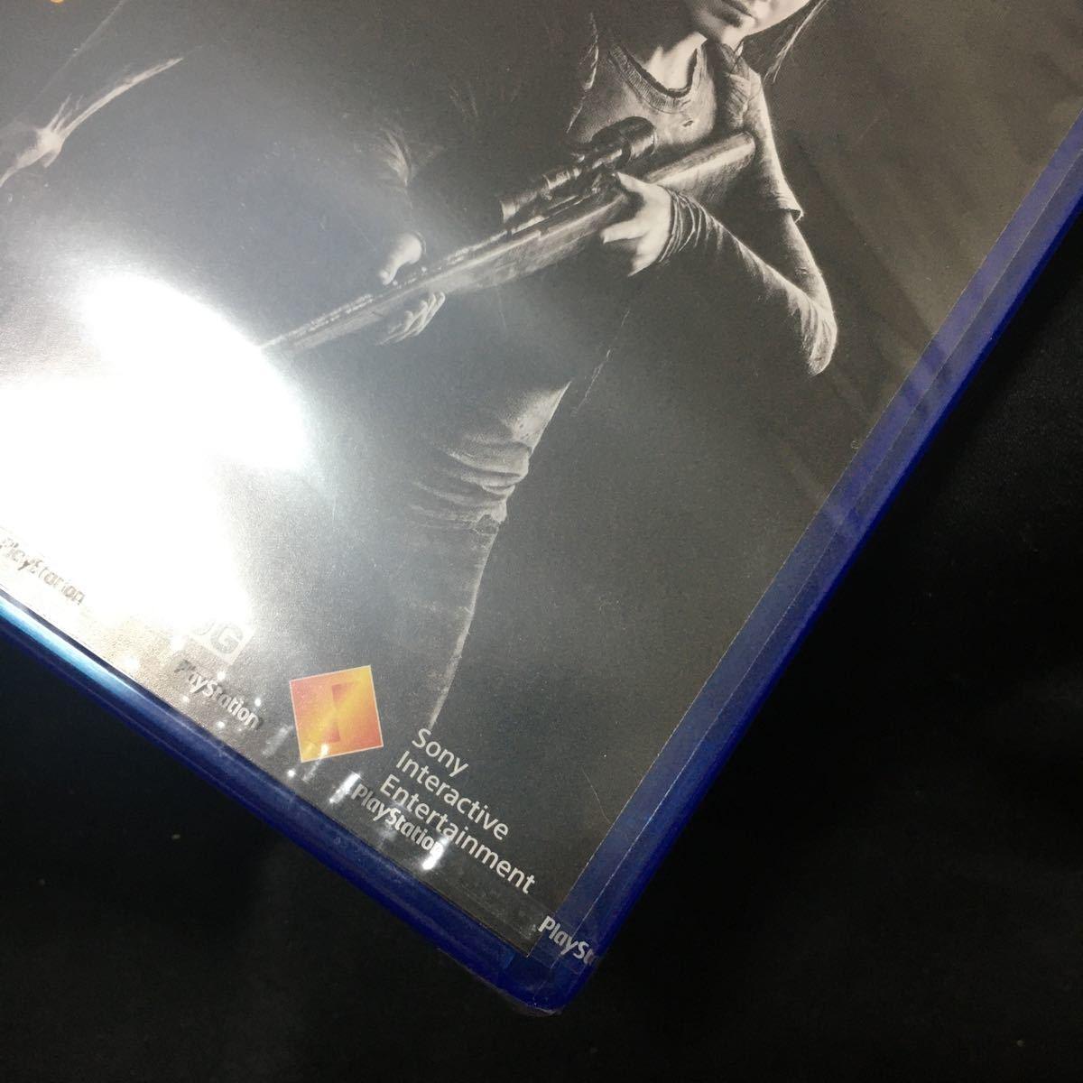 新品!未開封!【PS4】 ラストオブアス The Last of Us Remastered [PlayStation Hits]
