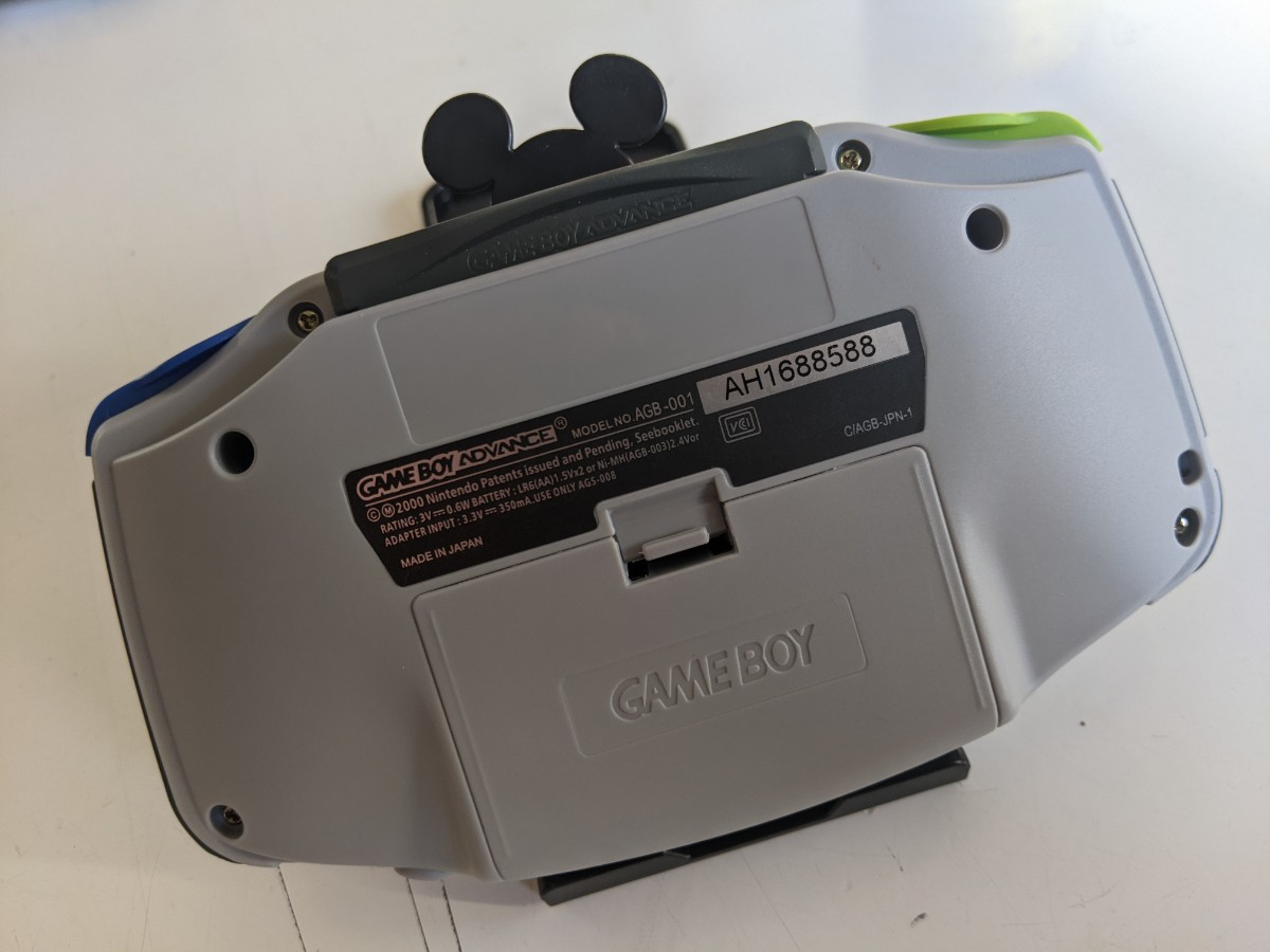 ゲームボーイアドバンス ips 液晶  カスタム