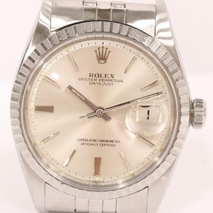 ロレックス オイスターパーペチュアルデイトジャスト Ref.1603 自動巻き 腕時計 メンズ 稼働品 ROLEX QT063-117