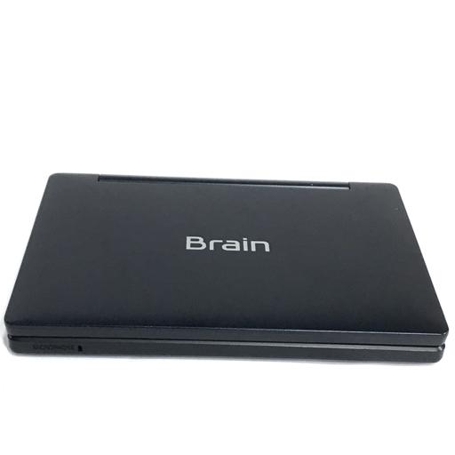SHARP PW-SH2 Brain 電子辞書 動作確認済み ブラック系 シャープ_画像5