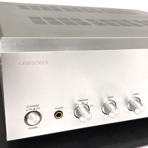 1円 ONKYO A-977 インテグレーテッドアンプ オーディオ機器 動作確認済み オンキョウ_画像2