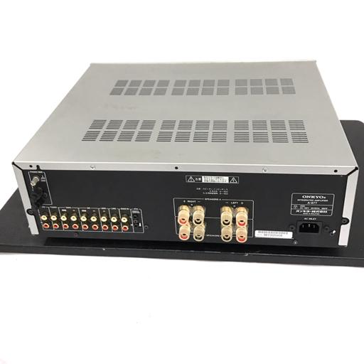 1円 ONKYO A-977 インテグレーテッドアンプ オーディオ機器 動作確認済み オンキョウ_画像7