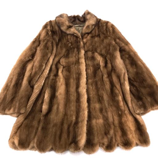 サガミンク ミンクファー 毛皮 コート サイズなし アウター レディース ブラウン SAGA MINK