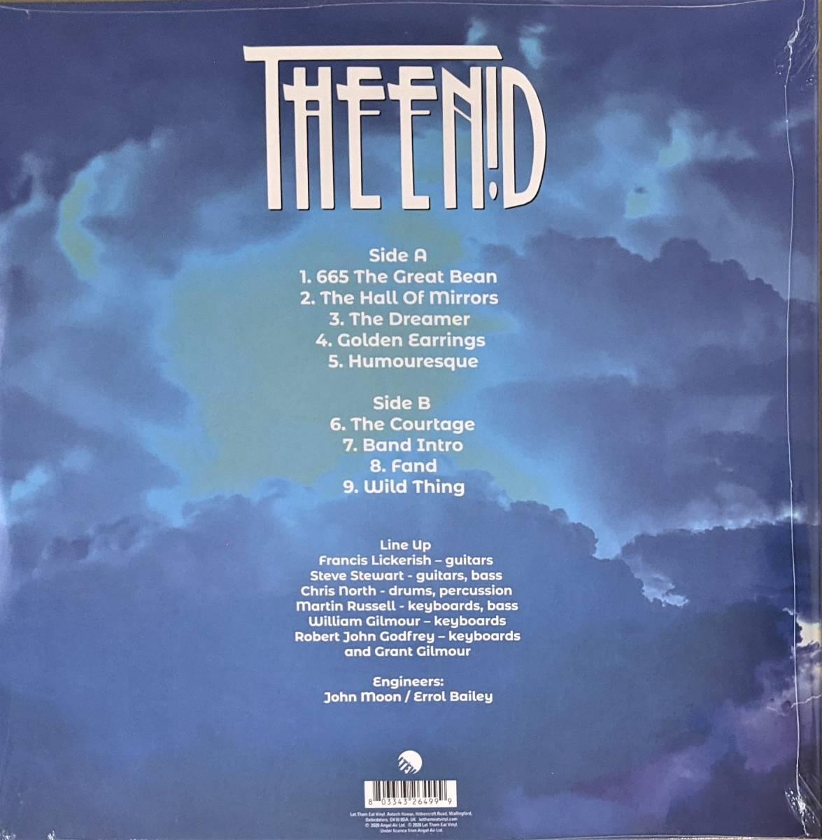 The Enid エニド - Live At Loughborough Town Hall, 1980 限定アナログ・レコード