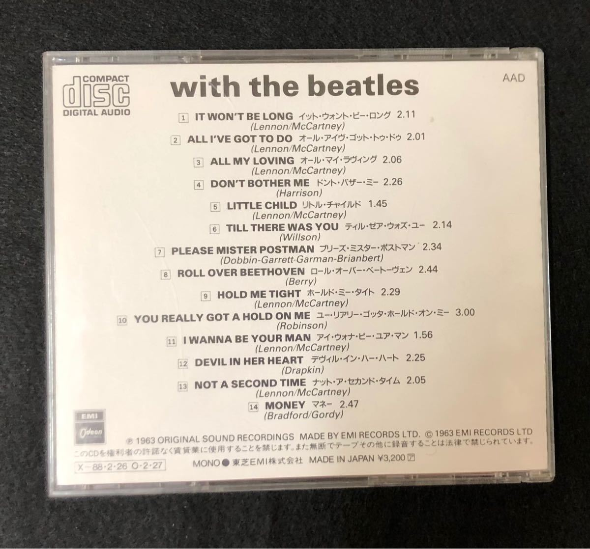 ★THE BEATLES★with the beatles★