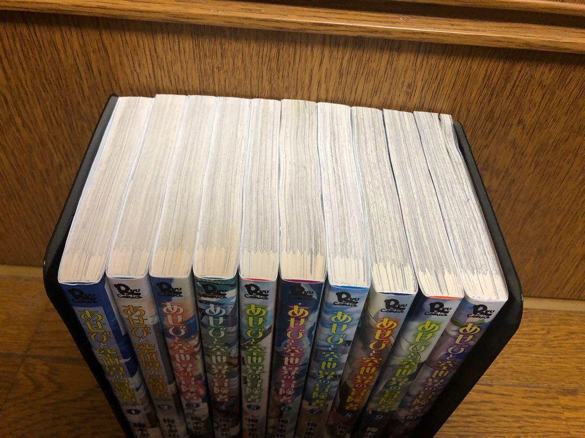 【完結】あせびと空世界の冒険者全巻1〜10巻セット