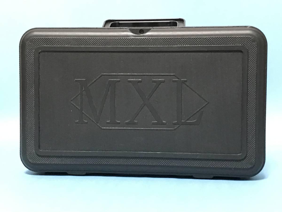 未使用 美品 MXL990 コンデンサマイク
