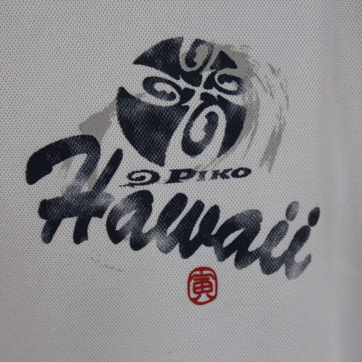 ピコ PIKO メンズ半袖Tシャツ ホワイト Mサイズ 新品 白 メッシュ_画像2