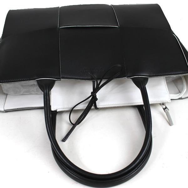 ボッテガヴェネタ トートバッグ ハンドバッグ ショルダーバッグ 黒 ブラック 美品 o508_画像4
