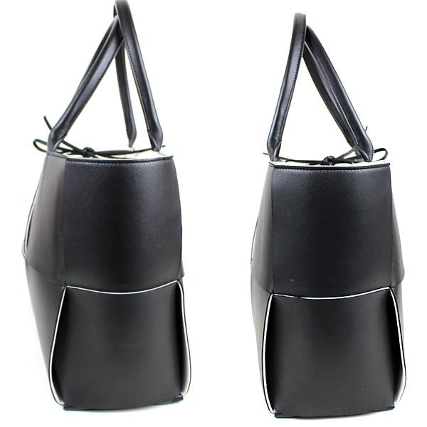 ボッテガヴェネタ トートバッグ ハンドバッグ ショルダーバッグ 黒 ブラック 美品 o508_画像3