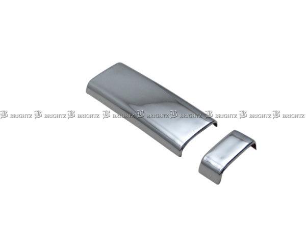 デリカD:5 CV1W CV2W メッキ インナー スライド ドア ハンドル カバー ノブ 2PC ガーニッシュ サイド INS-DHC-036-2PC_画像2