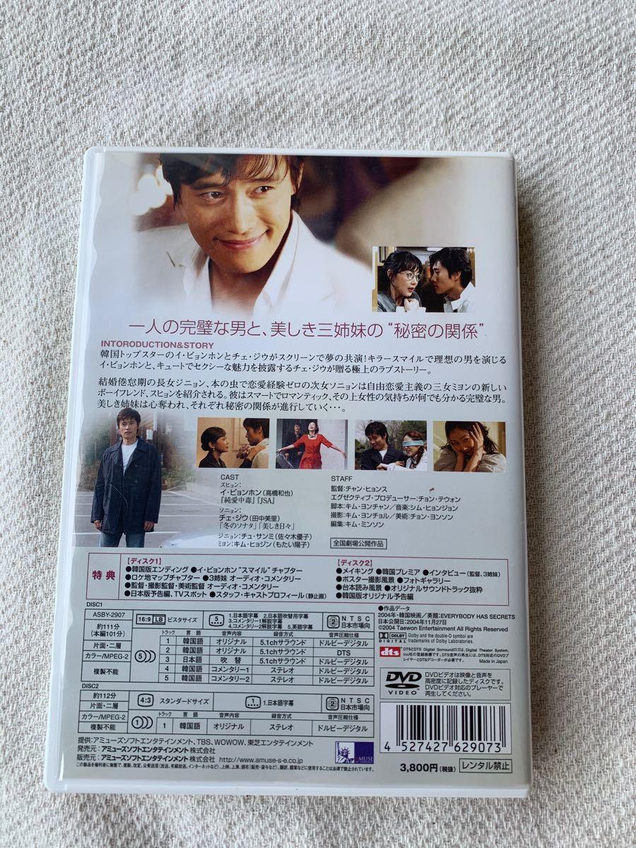 韓国ドラマ イ・ビョンホン主演映画 DVD