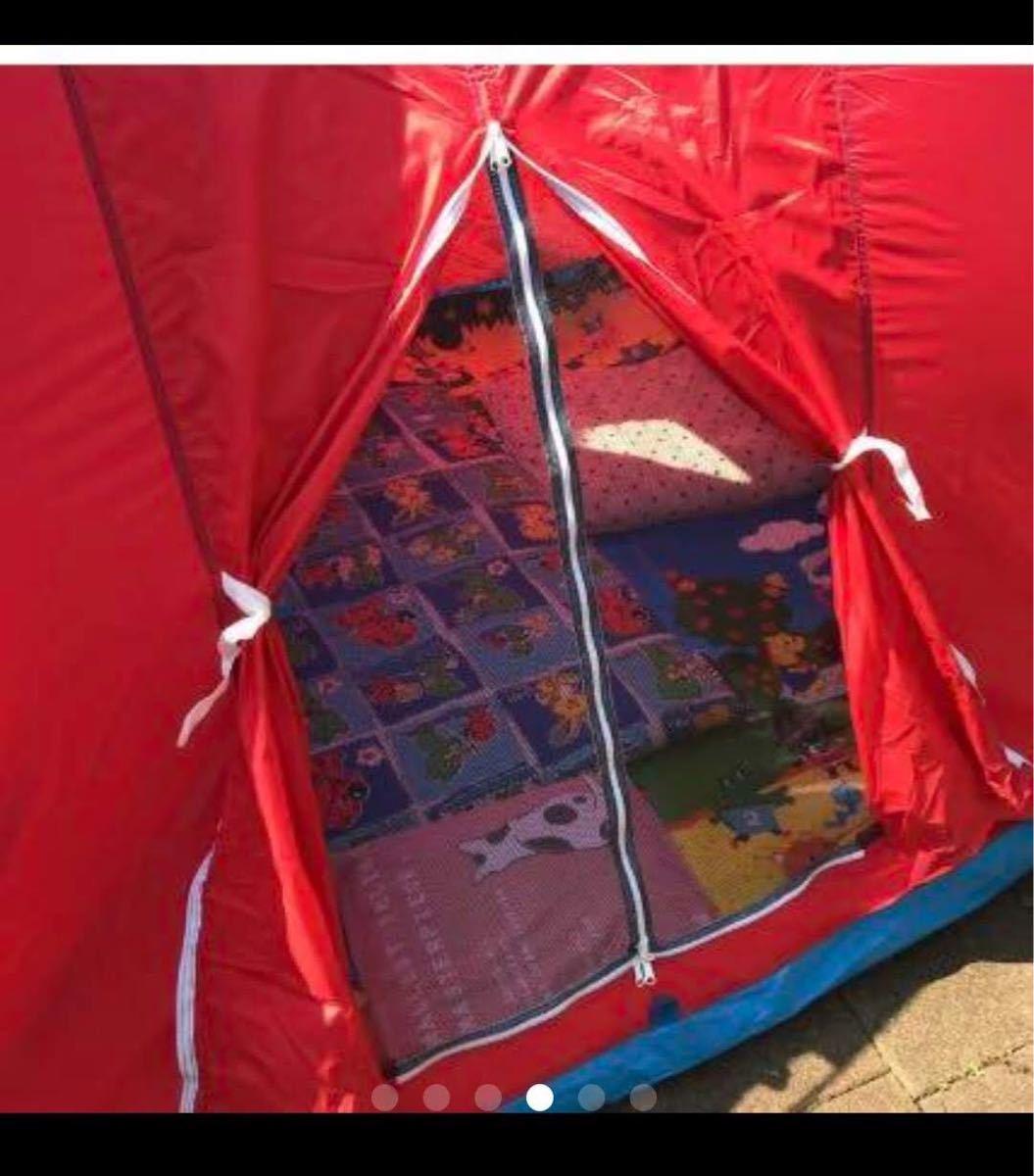 【レトロデザイン】テント キャンプ アウトドア