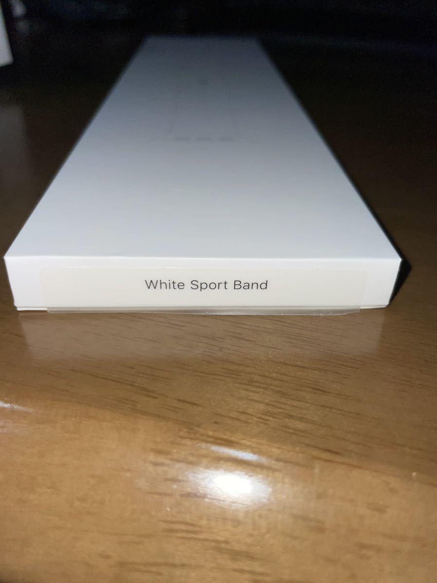 Apple Watch Series 5 GPS+Cellularモデル 40mm シルバーアルミニウムケースとホワイトバンド(MWX12J/A)_画像5