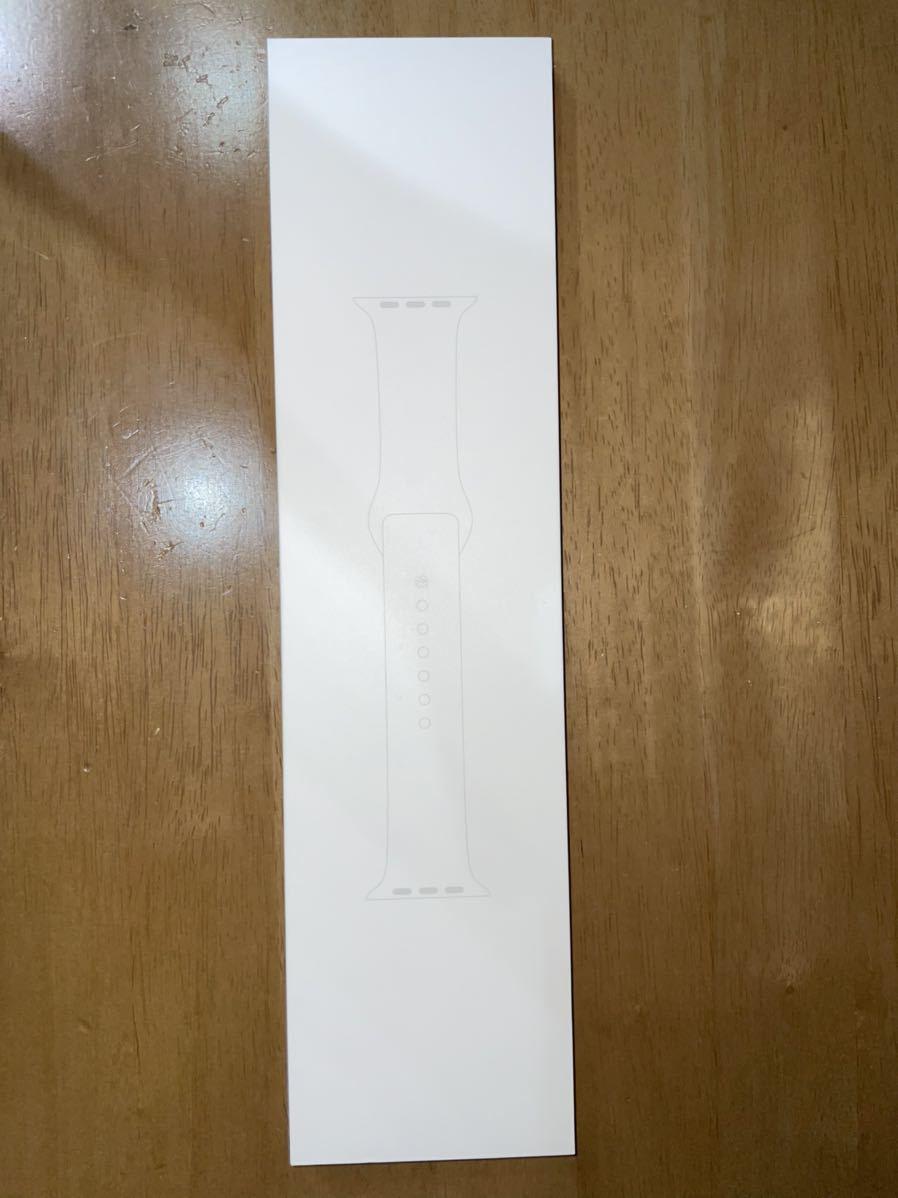 Apple Watch Series 5 GPS+Cellularモデル 40mm シルバーアルミニウムケースとホワイトバンド(MWX12J/A)_画像6