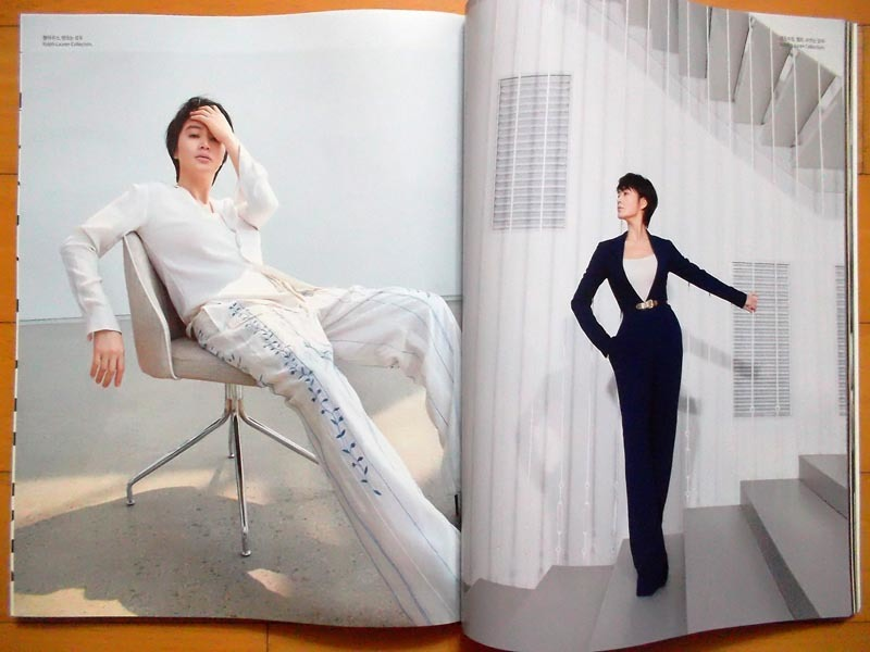 [キム・ヘス] 韓国雑誌切り抜き 表紙+特集10P/2020年5月号 _画像3