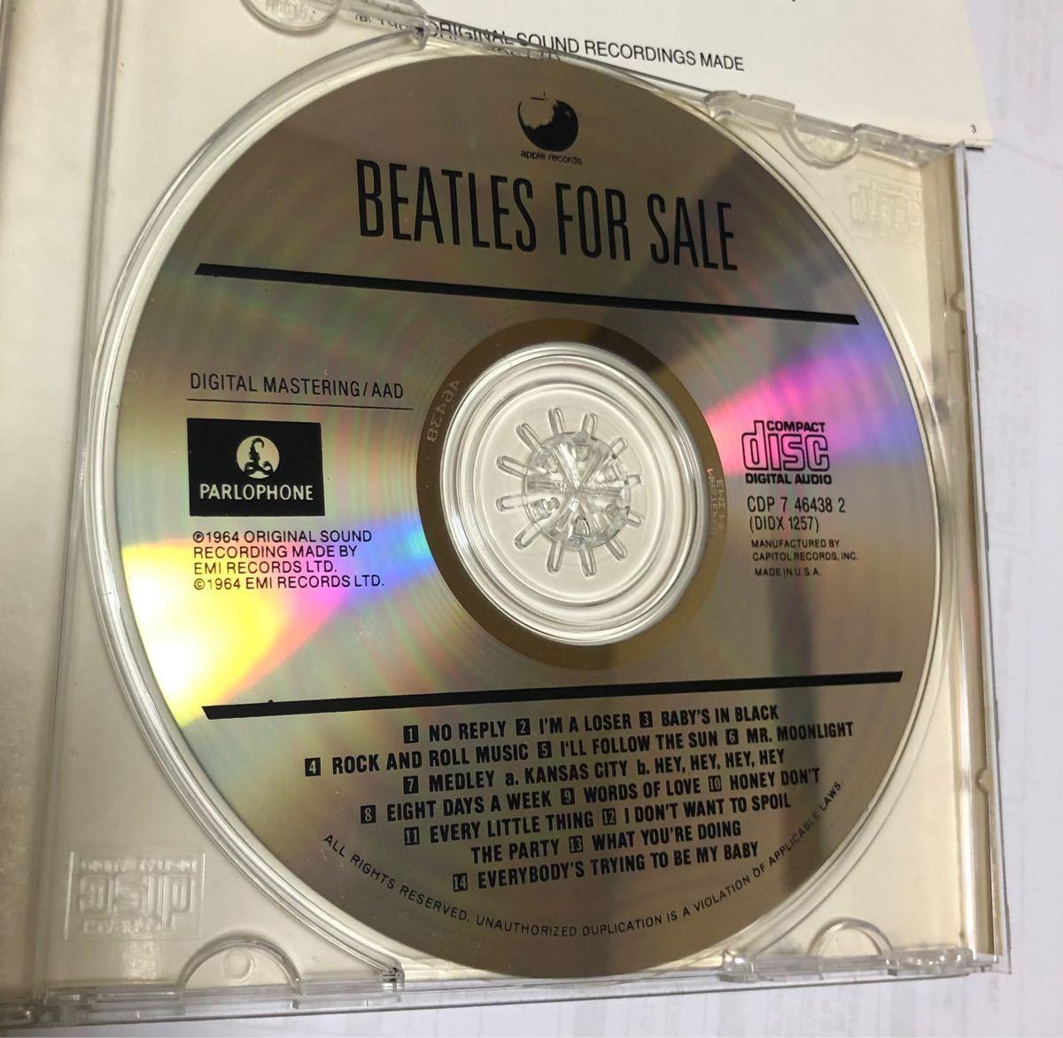 ザ・ビートルズ フォーセール CD
