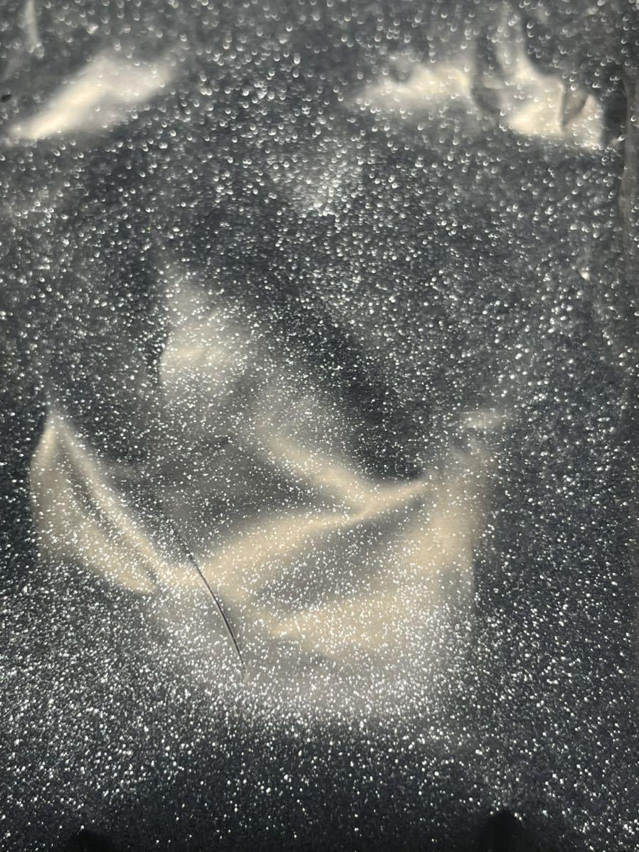 送料無料!メタルフレーク 0.1mm スモーククローム 30g★カスタムペイント ラメ フレーク グリッター ネイルアート 塗料 塗装 エアーブラシ_画像3
