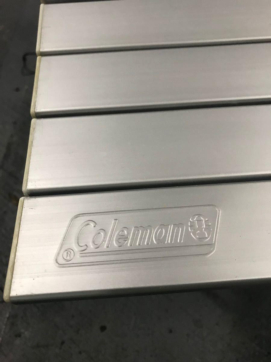 Coleman コールマン グリルラック付き 2wayアルミロールテーブル BBQ 折りたたみテーブル
