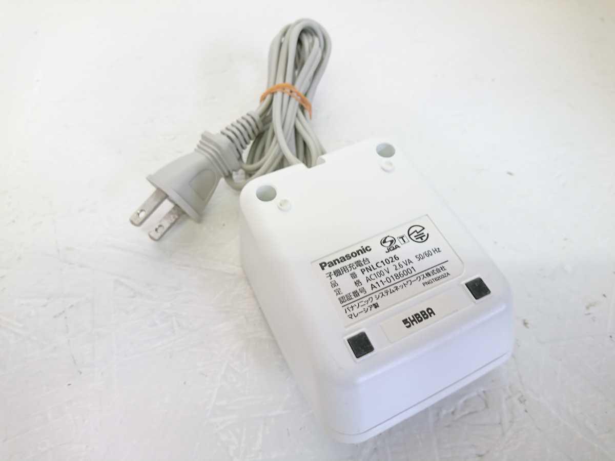 管理1126 Panasonic パナソニック コードレス 電話機 子機 KX-FKD503-W _画像10