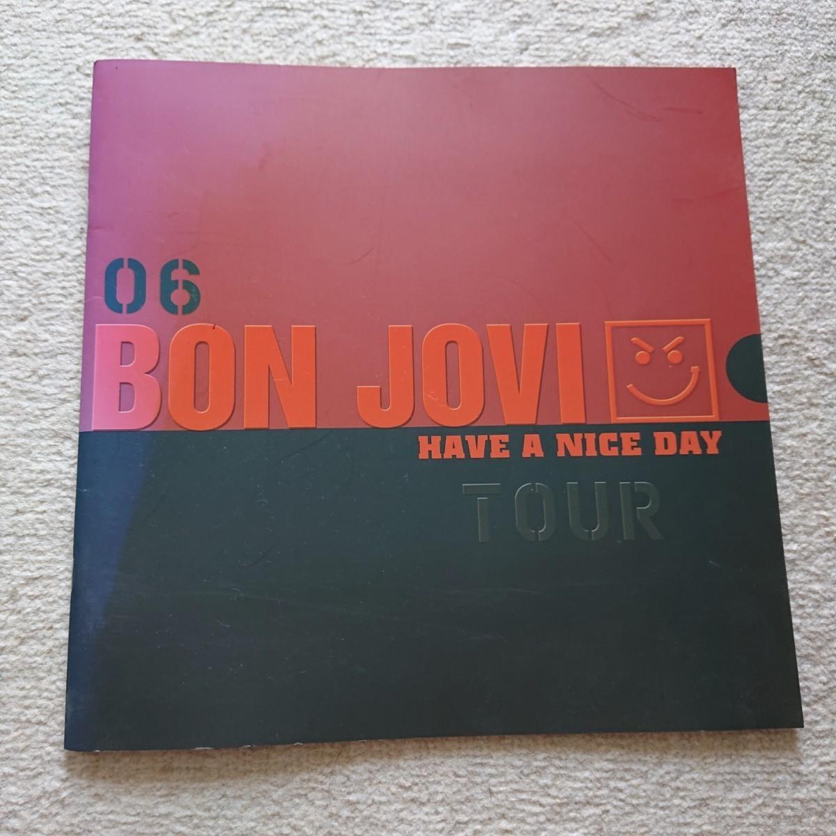 Bon Jovi 2003,2006 ライブパンフレット ボン・ジョヴィ ライヴパンフレット2点セット