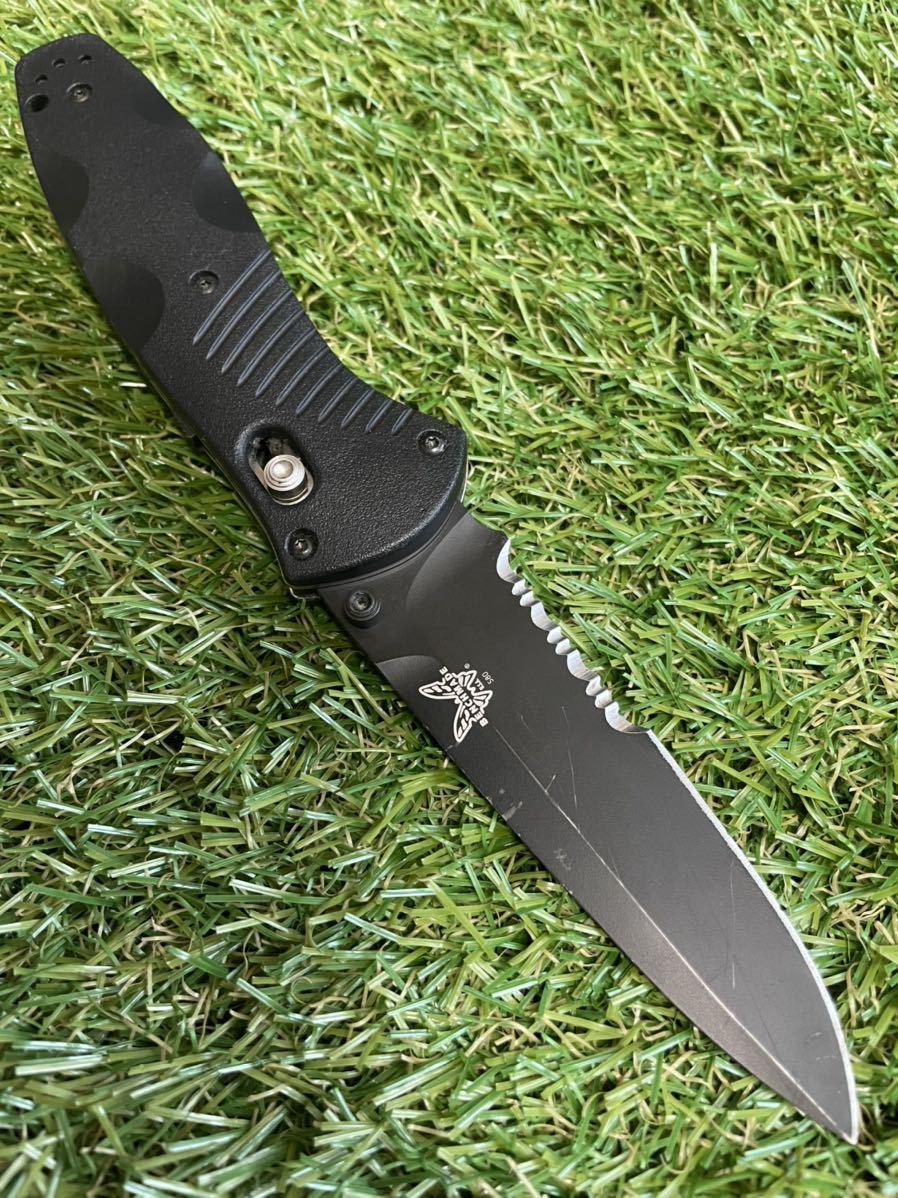 BENCHMADE 580bk ベンチメイド フォールディングナイフ 折りたたみナイフ