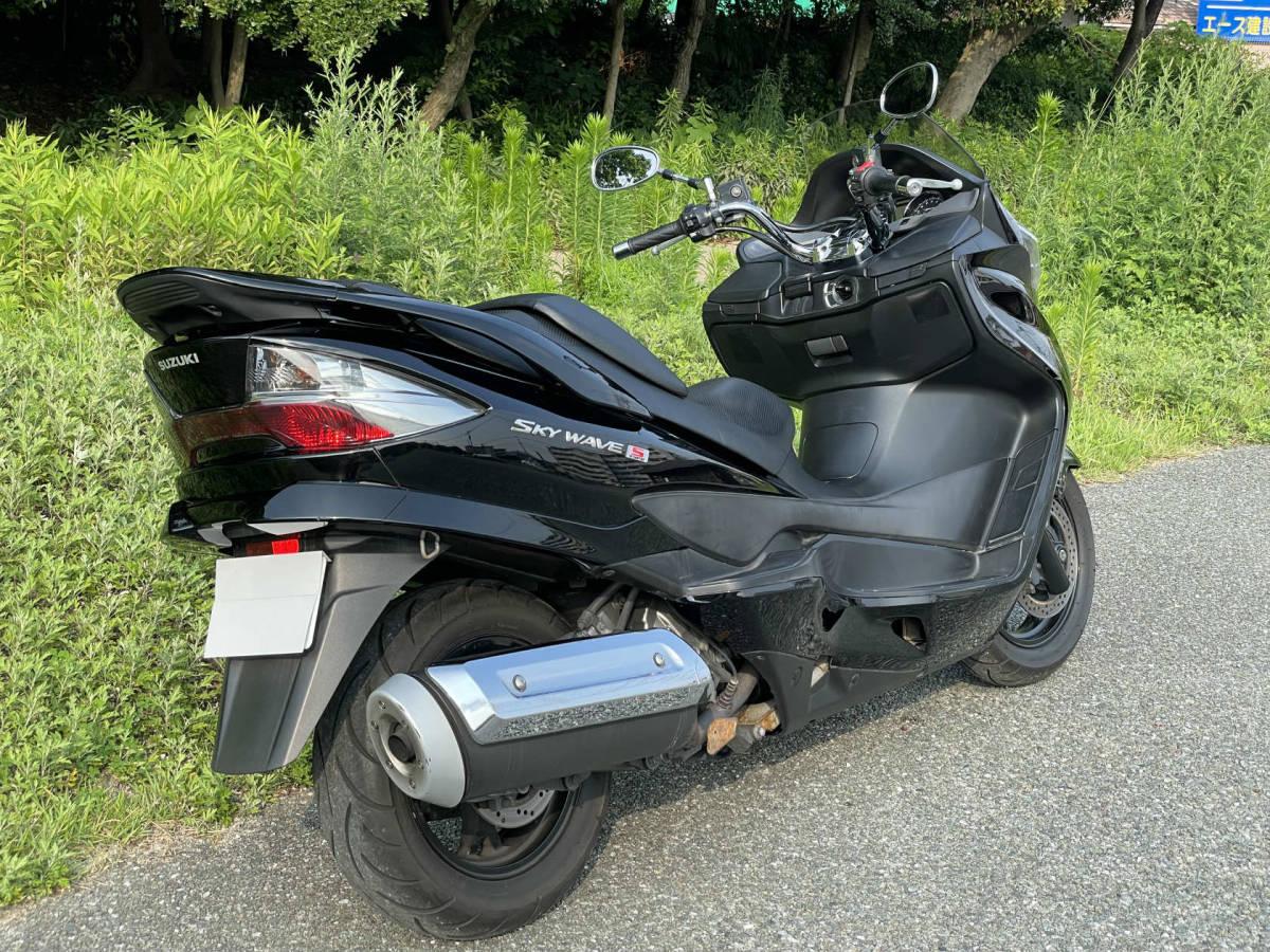 「すぐ乗れます♪ スカイウェイブ250 タイプS AN250SL1 CJ46A (GooBike掲載中) 福岡より」の画像3