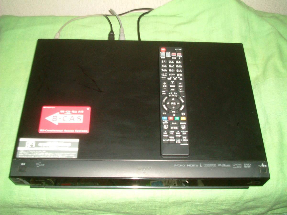 シャープ BD-HDW32  HDD/DVD/ブルーレイ/ レコーダー 2番組同時録画  新品リモコン  B-CASカード付_画像2