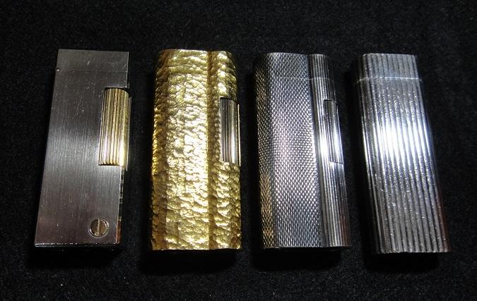 ★ dunhill / ダンヒル ライター 3個 ★ Cartier カルティエ ライター ◆ ガスライター まとめて 4個 【中古:現状渡し】