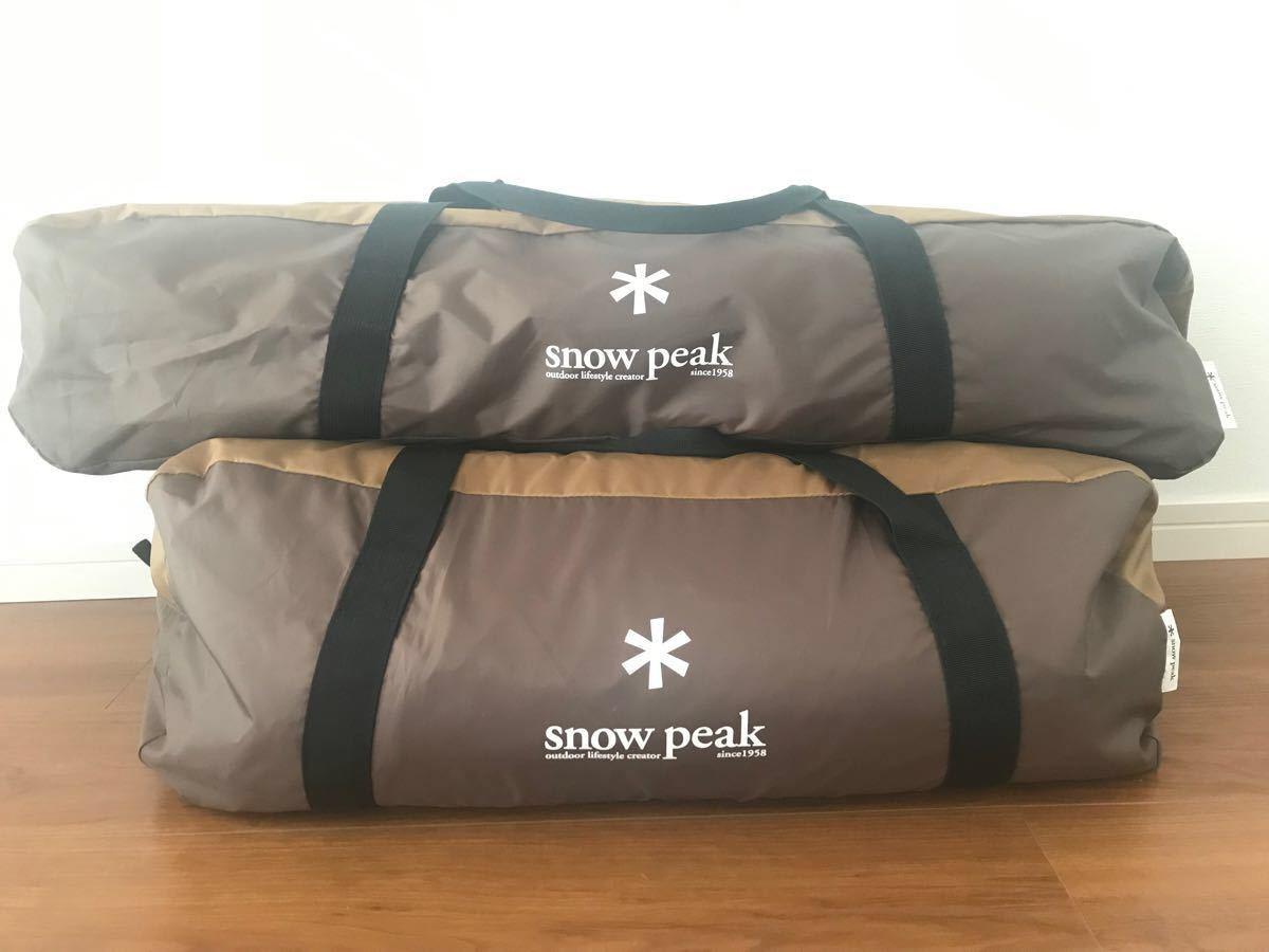 snow peak エントリーパックTT スノーピーク スノーピークエントリーパックTT